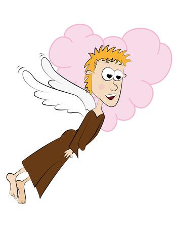 Angel in love Illustration
