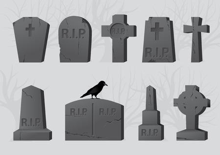 tumbas: L�pidas Vectores