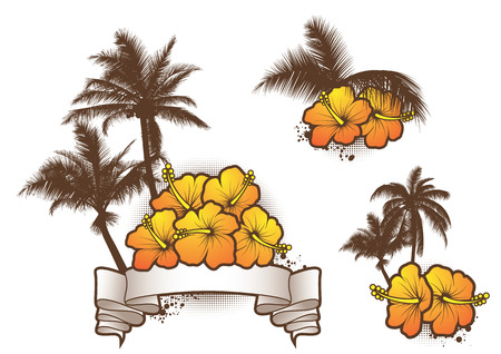 Tropical banners Stock Vector - 8986755