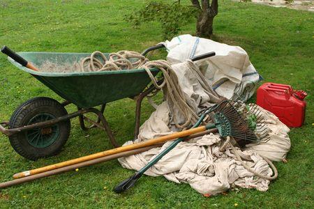 Garden tools photo