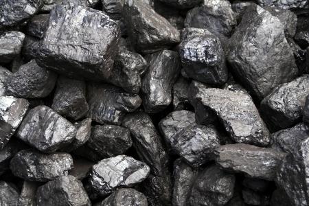 mined: Coal Stock Photo