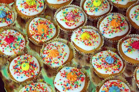 Fairy Cakes Stock Photo