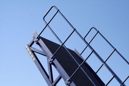 allow: Bridge raised to allow passage of yachts Stock Photo