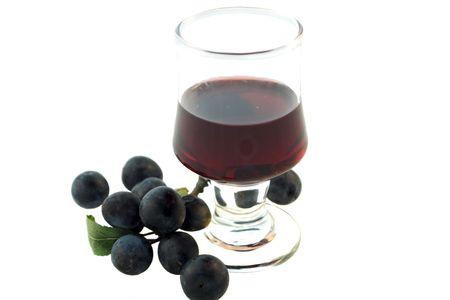 Sloe gin maturing