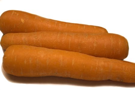 Fresh Carrots ready for soup