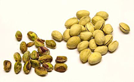 Shelled & unshelled pistachio nuts