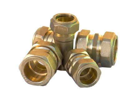 Collection of pipe joints, junctions and connections