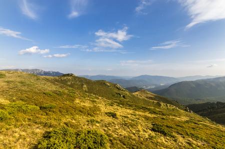 beautiful location: Late Summer Mountain Landscape