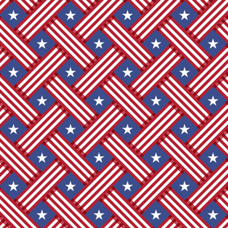 USA Independence day seamless pattern. seamless texture for print or mobile projects.
