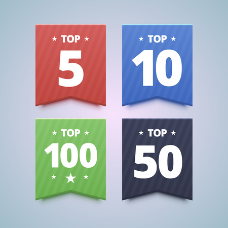 first rate: Top rating badges