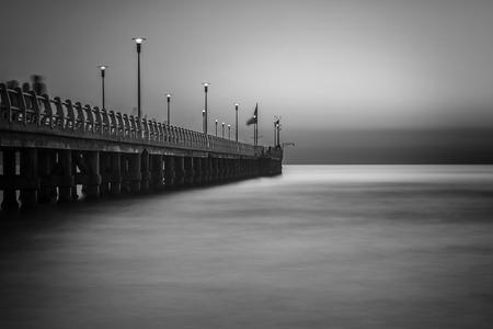 exposici�n: Long exposure pier