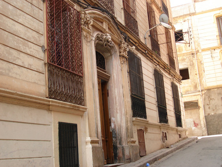 nineties: that is now:almost people in algeria are barricading behind iron railings in their windows;that since the civil war in nineties