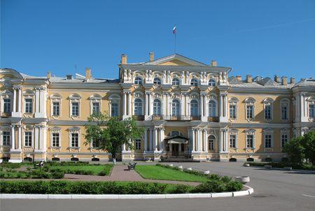Vorontsov's palace. St. Petersburg Stock Photo