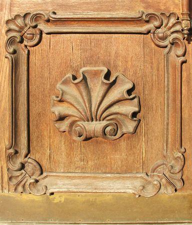 voluminous: Detail of the front door. Sheremetev Palace, St. Petersburg