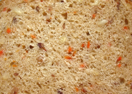 inclusions: Background of bread. Macro Stock Photo