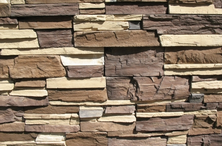 Ornamental stone cladding Stock Photo - 12137139