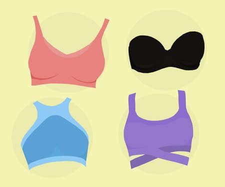 women's bras, balcony bra, sporty, classic, elegant