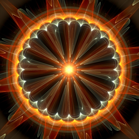 abstract: Abstract fractal background Stock Photo