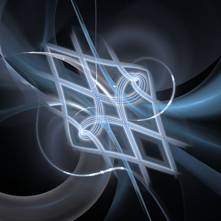 Abstract fractal background Stock Photo