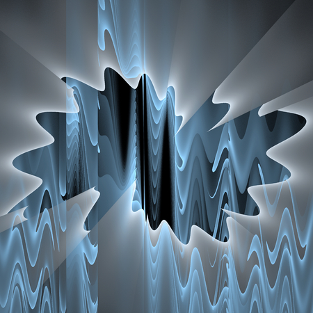 Abstract fractal spiral background Stock Photo