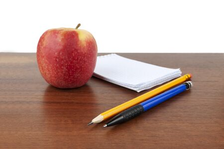 Apple pen pencil lie on the table