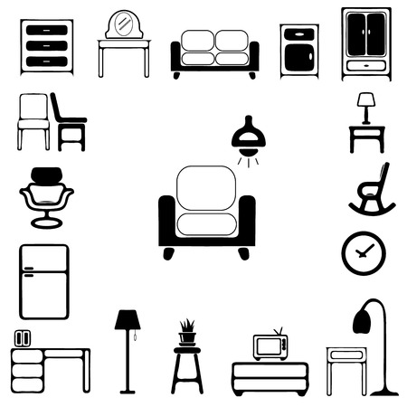 headboard: Furniture Icons