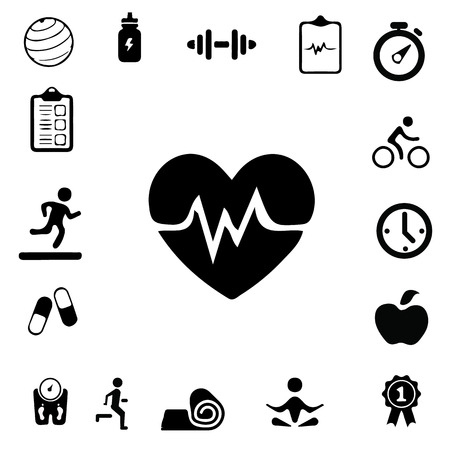 wellness: Health and Fitness icons