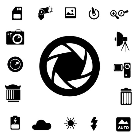 lightbox: Photography Silhouette Icons