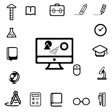 computer scientist: Education Icons