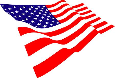 estados unidos bandera: EE.UU. Bandera Vectores