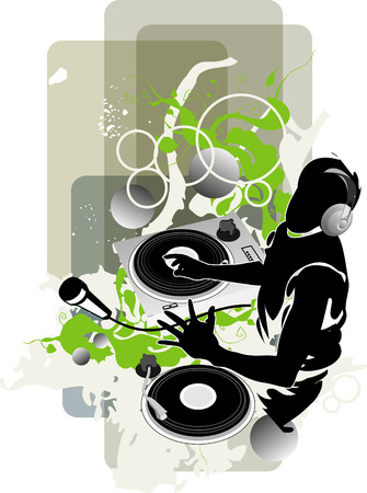 music listening: DJ