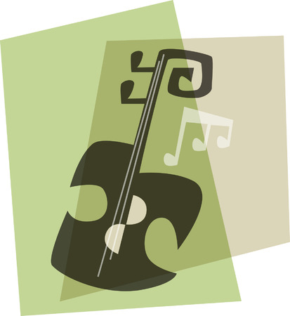 double bass: Music Icon