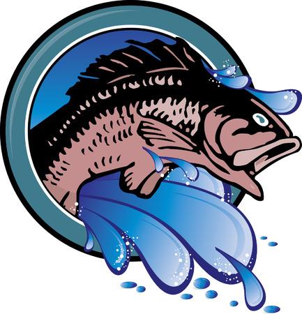 gill: Fishing Icon Illustration