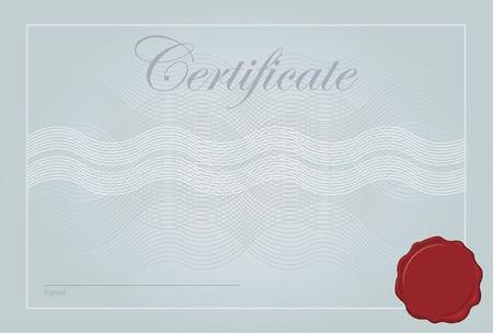 Certificate, Diploma Vector Template Vector