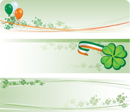 St Patricks Day Banners Stock Vector - 6394674