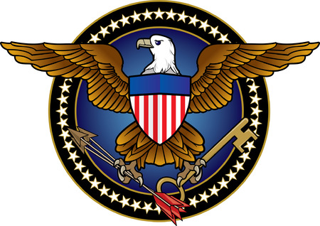 American Eagle Icon Illustration