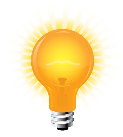 Light Bulb Stock Vector - 6840496