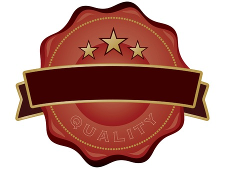 Quality Seal Stock Vector - 6872538