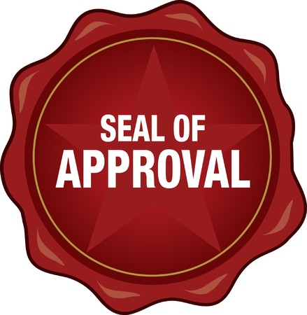 approve icon: Quality Seal of Approval