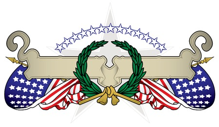 United States Banner Stock Vector - 7052539