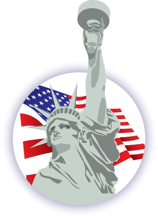 famous statues: Statue of Liberty Icon