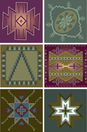 Primitive Tribal Patterns Vector