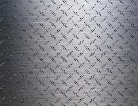 diamondplate: Metal grid background Stock Photo