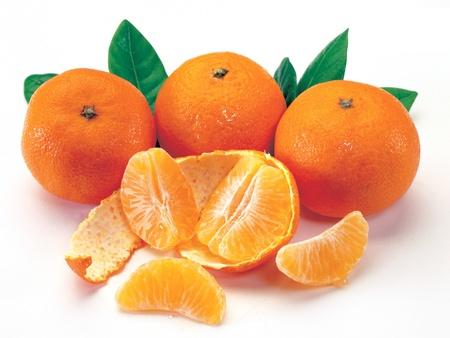 mandarin oranges: Bunch of Mandarin Oranges