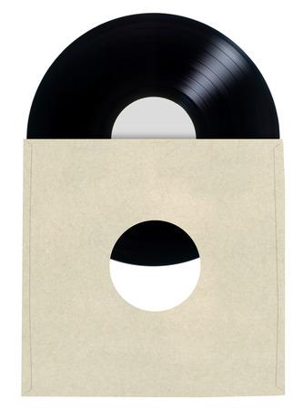 sleeve: Blank Vinyl Record Sleeve