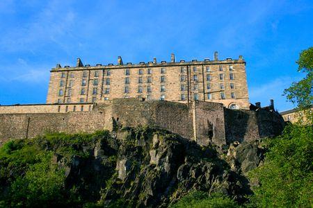 lothian: Edinburgh Castle Scotland