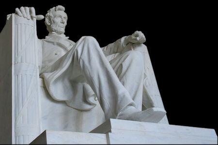 honest abe: Abraham Lincoln Stock Photo