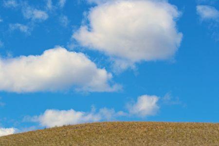 草原の空 写真素材 - 4759681