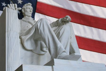 honest abe: Lincoln Memorial