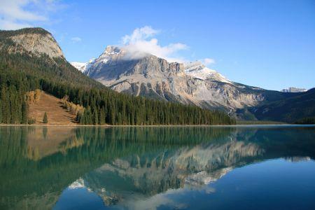 Emerald Lake in Banff National Park, Alberta Canada